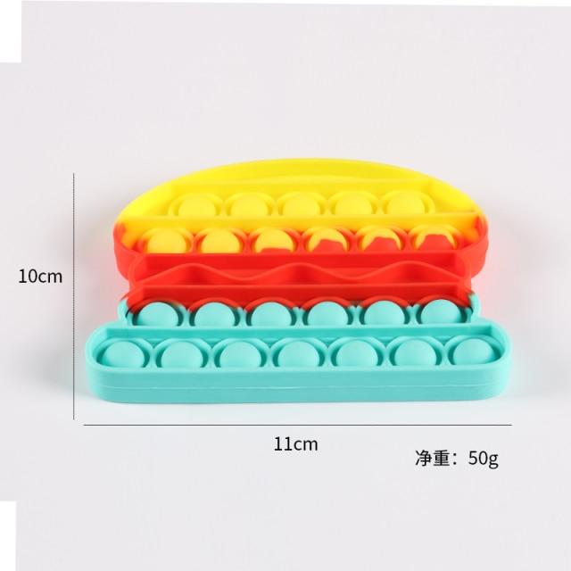 pop it humbeger fidget toy 2545 - Wacky Track