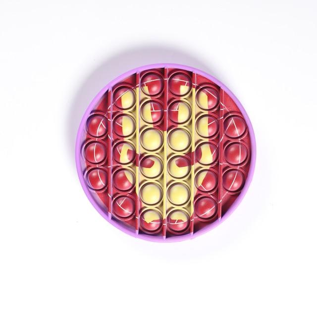 pop it iron man image fidget toy 5874 - Wacky Track