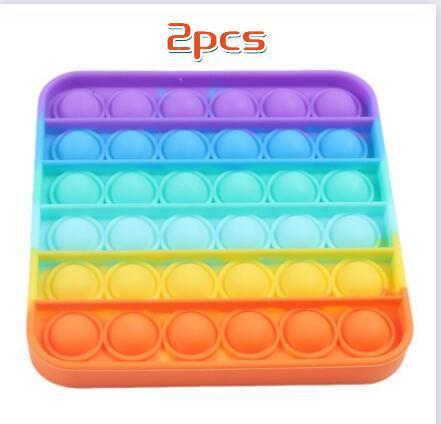 pop it jumbo bubble fidget toys 3045 - Wacky Track