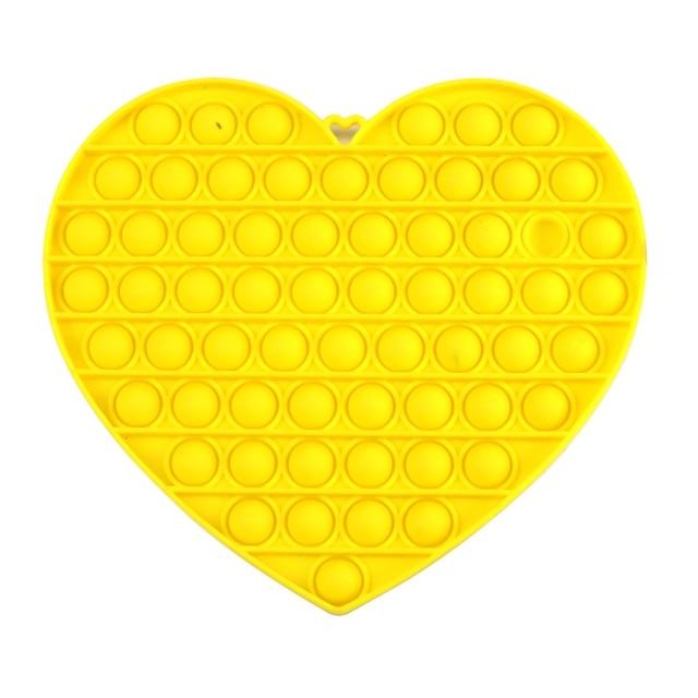 pop it jumbo heart shape fidget toys 1078 - Wacky Track