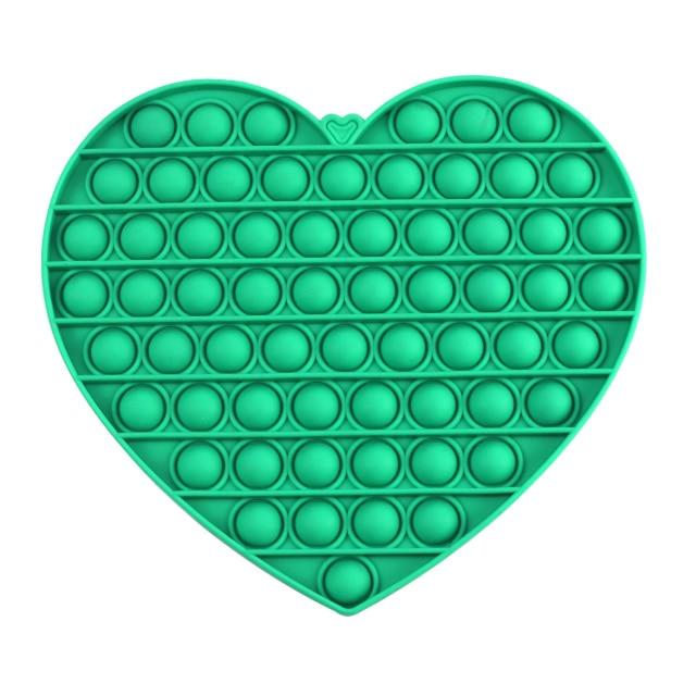 pop it jumbo heart shape fidget toys 2807 - Wacky Track