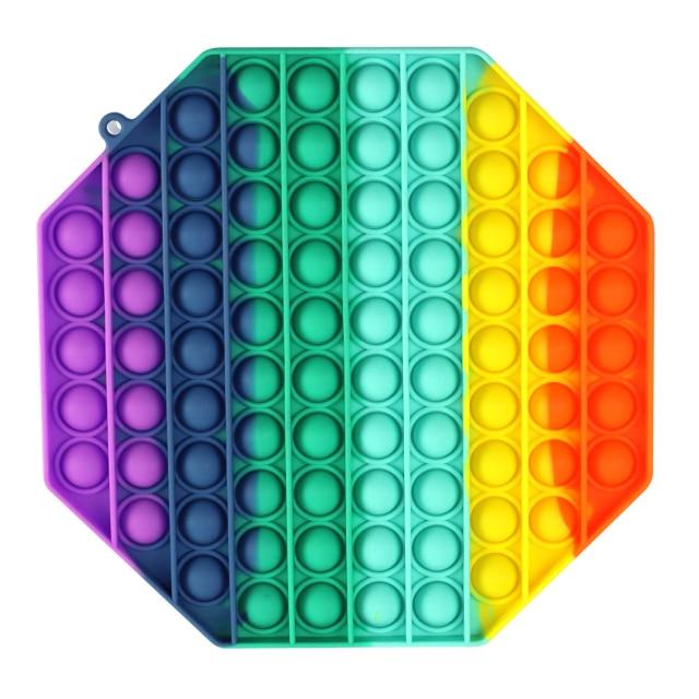 pop it jumbo polygon fidgets toys 6048 - Wacky Track