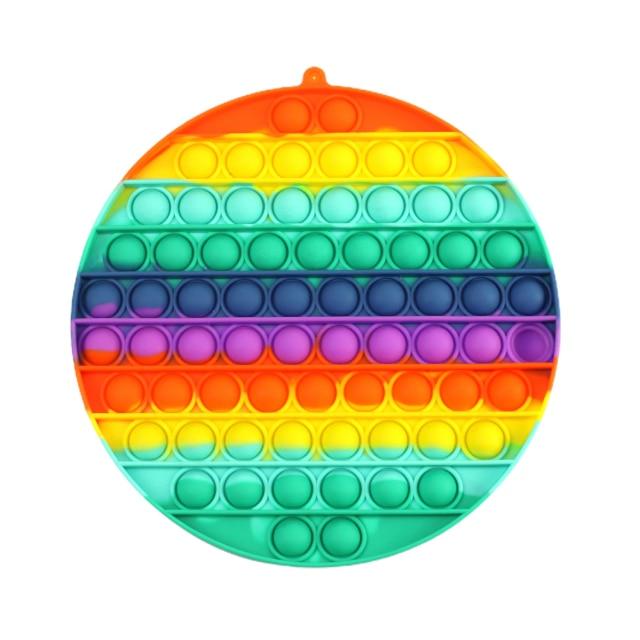 pop it jumbo round shape fidget toys 4460 - Wacky Track