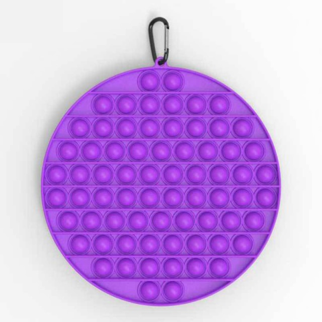 pop it jumbo round shape fidget toys 5595 - Wacky Track
