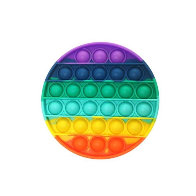 pop it jumbo round shape fidget toys 5893 - Wacky Track
