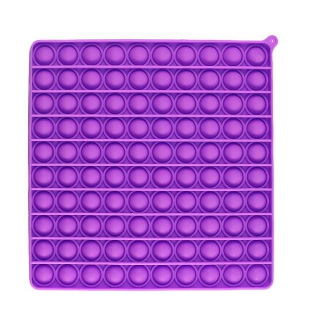 pop it jumbo square fidget toy 1838 - Wacky Track