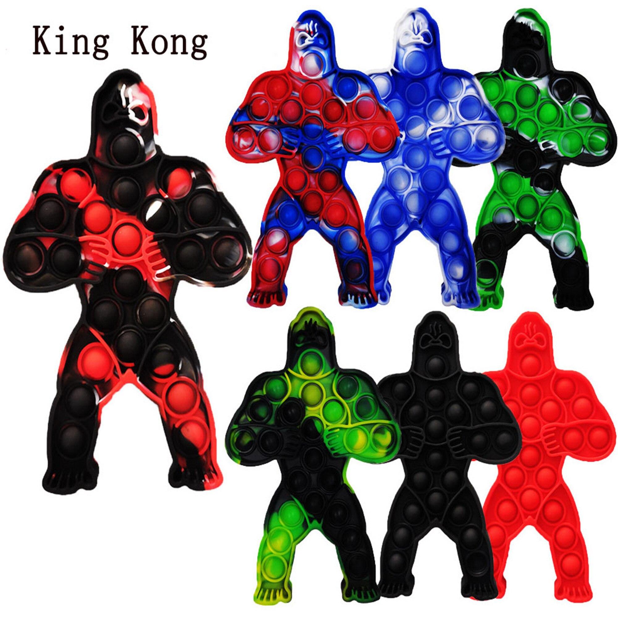 pop it king kong fidget toy 4290 - Wacky Track