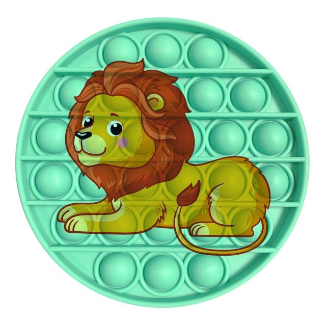pop it lion image fidget toy 1779 - Wacky Track