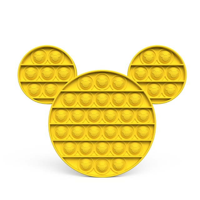 pop it mickey mouse anti stress fidget toy 4163 - Wacky Track