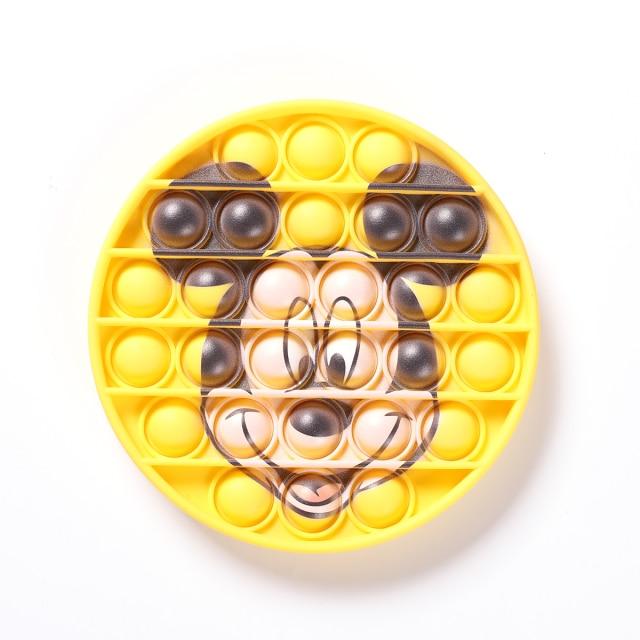 pop it mickey mouse character fidget toy 2665 - Wacky Track