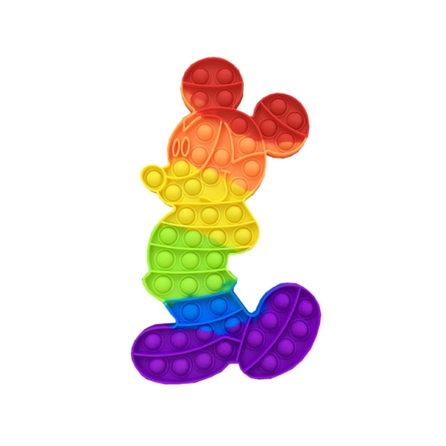 pop it mickey mouse fidget toy 3254 - Wacky Track
