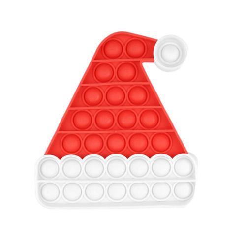 pop it noel hat popping fidget toys 5034 - Wacky Track