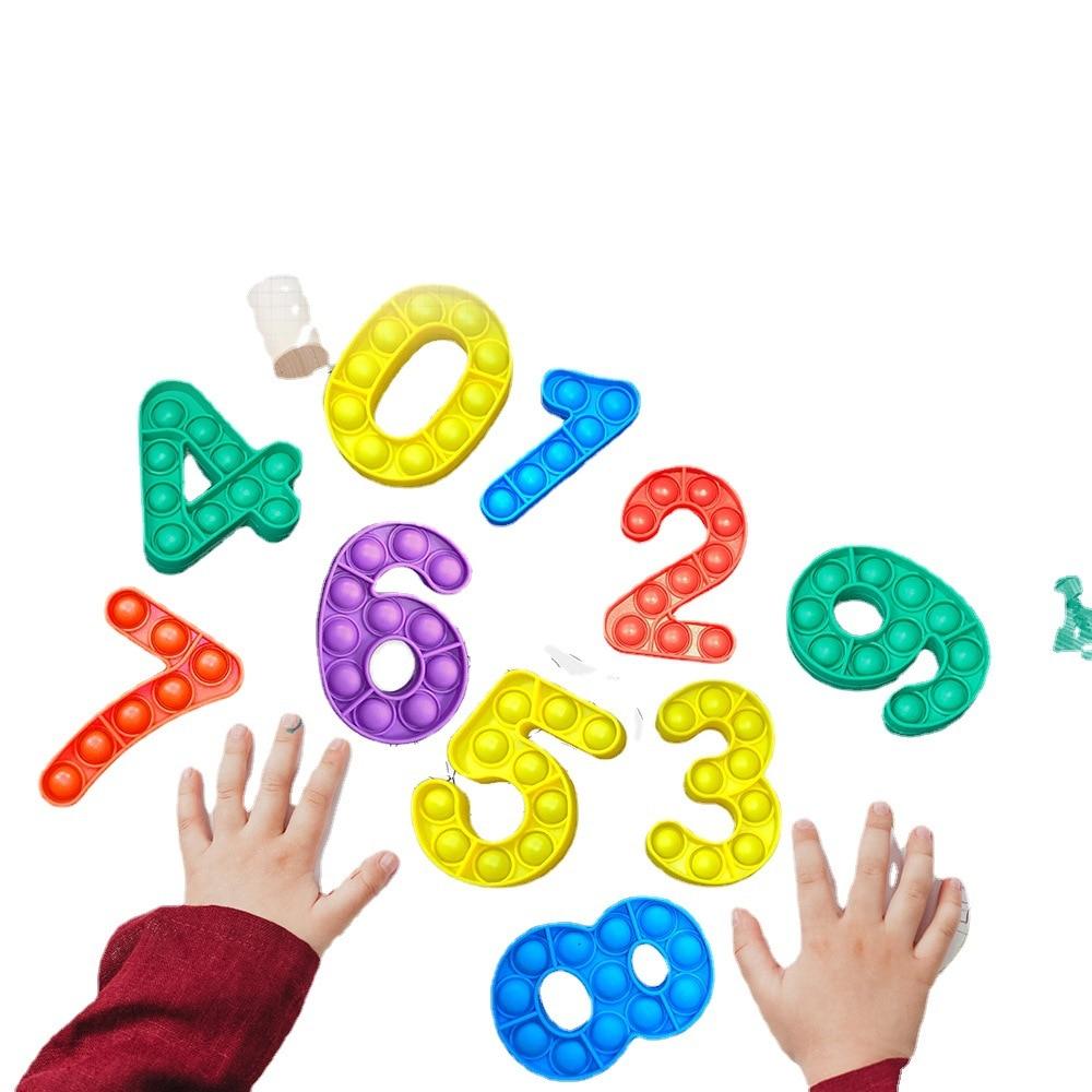 pop it number fidget toys 2248 - Wacky Track