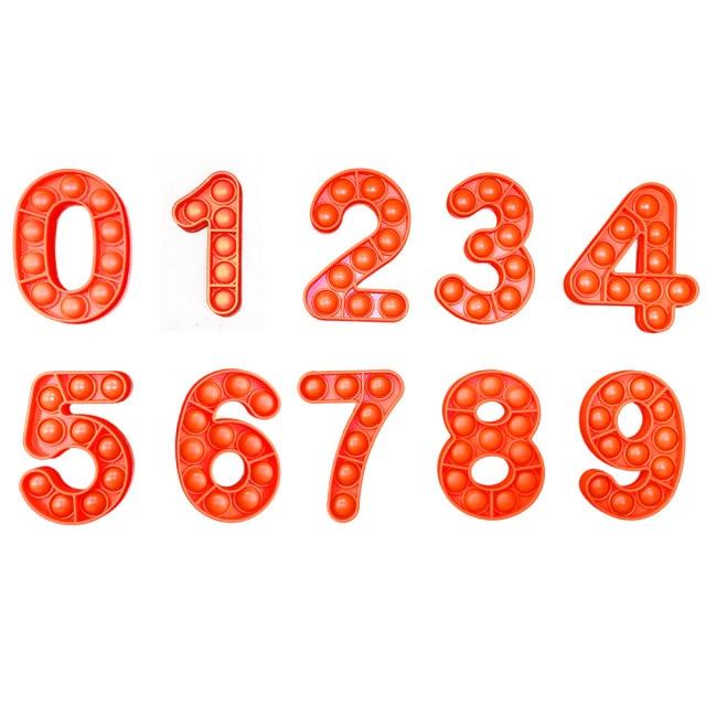 pop it number fidget toys 2914 - Wacky Track