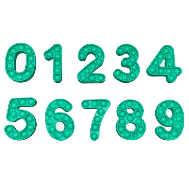 pop it number fidget toys 4274 - Wacky Track