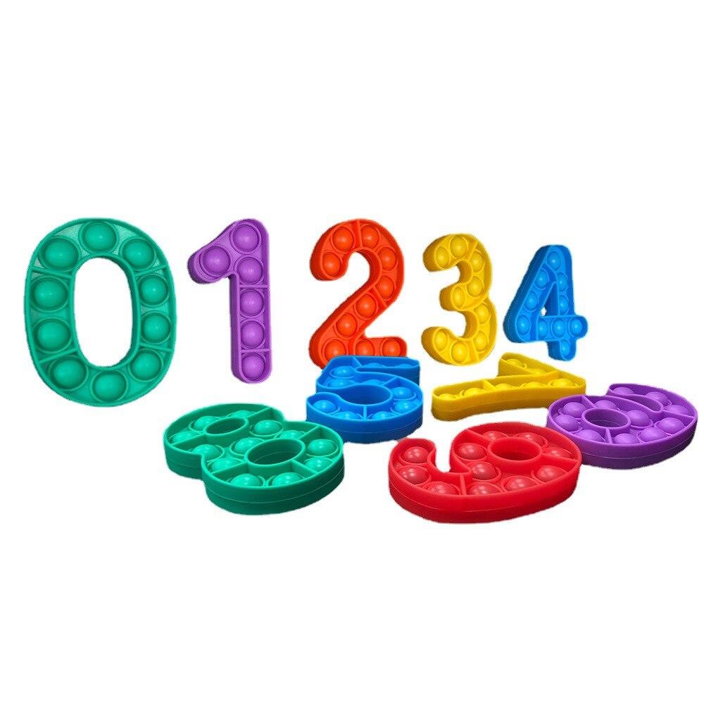 pop it number fidget toys 5584 - Wacky Track