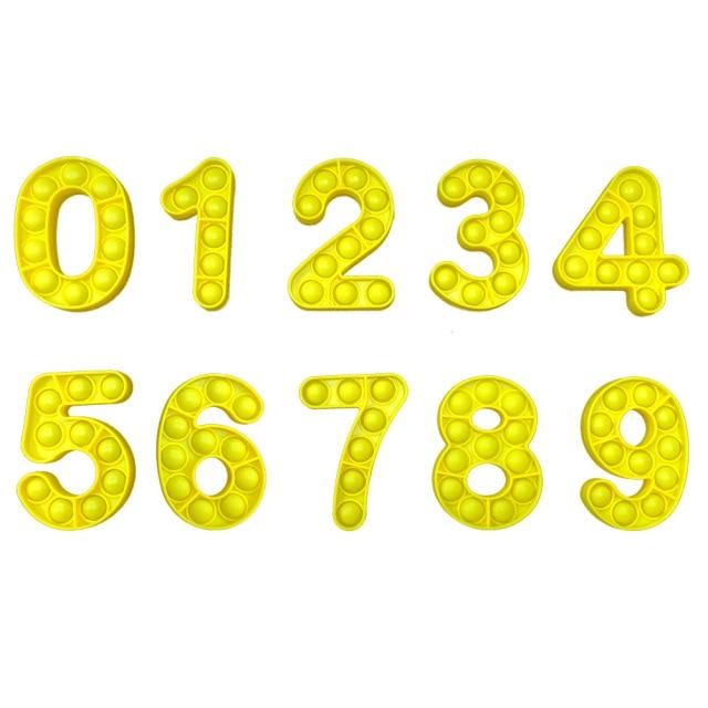 pop it number fidget toys 5964 - Wacky Track