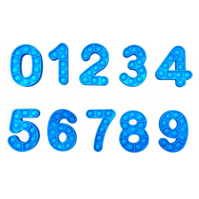pop it number fidget toys 7158 - Wacky Track
