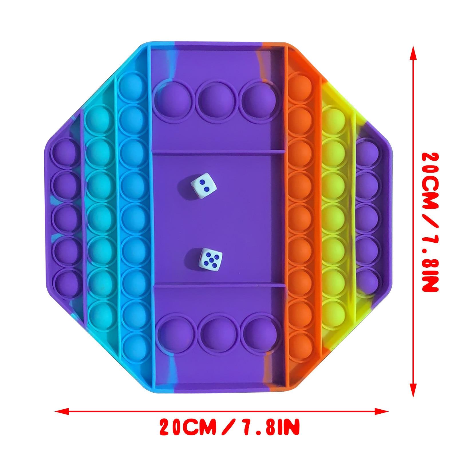 pop it octagon fidget toy 5973 - Wacky Track