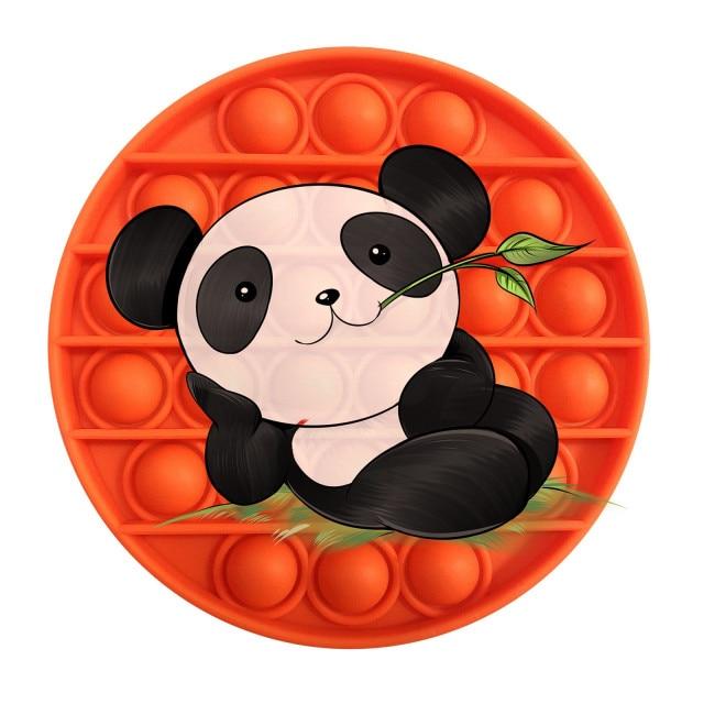 pop it panda image fidget toy 5427 - Wacky Track