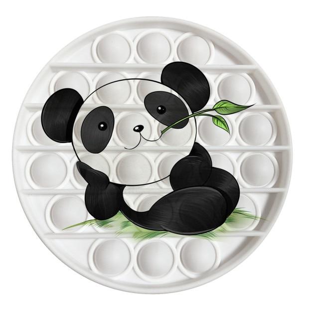 pop it panda image fidget toy 8881 - Wacky Track
