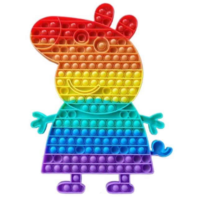 pop it peppa pig fidget toy 6244 - Wacky Track