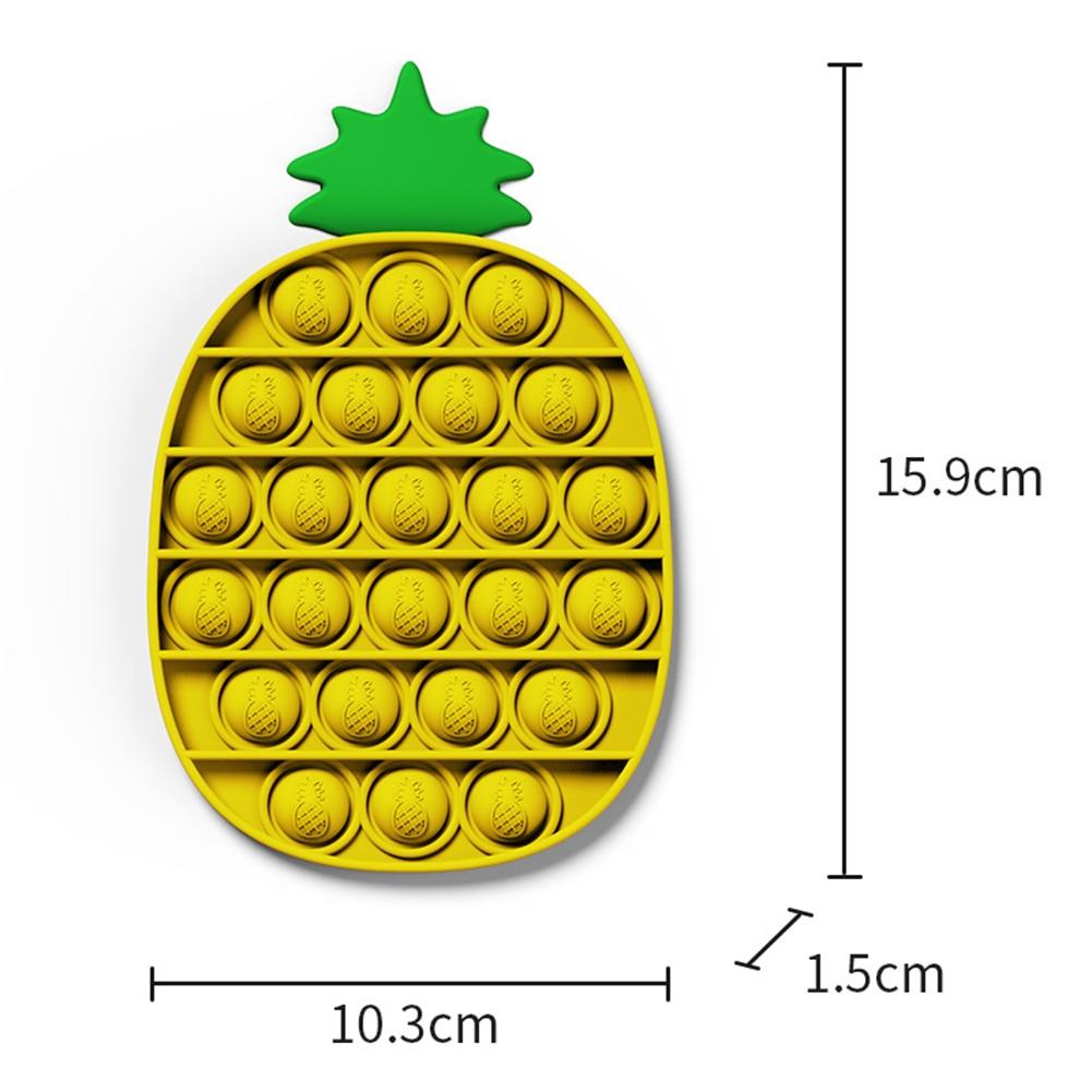 pop it pineapple fidgets toys 1425 - Wacky Track