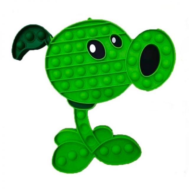 pop it plant vs zombie green bean fidget toy 5783 - Wacky Track