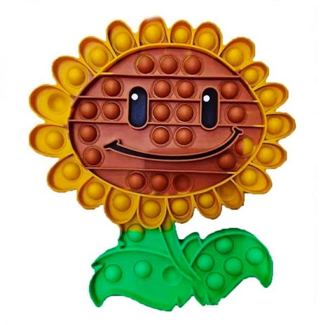 pop it plant vs zombie sunflower fidget toy 4546 - Wacky Track