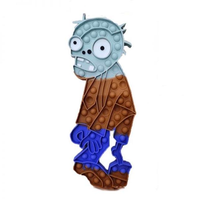 pop it plant vs zombie zombie fidget toy 5030 - Wacky Track