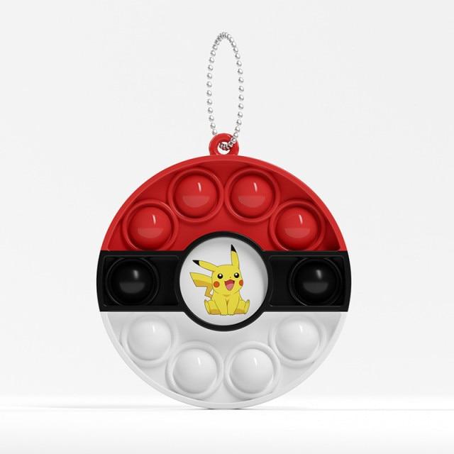 pop it pokemon anime keychain fidget toy 4480 - Wacky Track