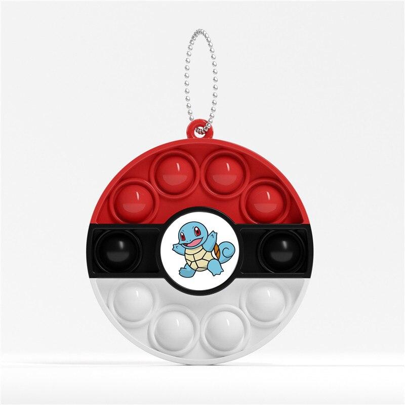 pop it pokemon anime keychain fidget toy 6215 - Wacky Track