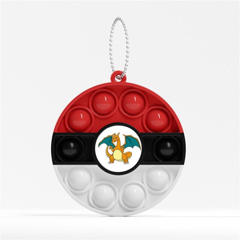 pop it pokemon anime keychain fidget toy 7890 - Wacky Track