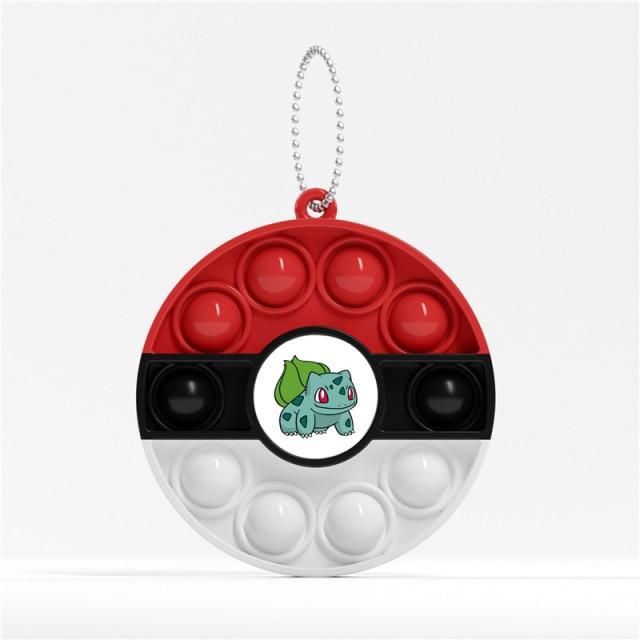 pop it pokemon anime keychain fidget toy 8445 - Wacky Track