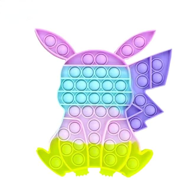 pop it pokemon pikachu fidget toy 2672 - Wacky Track
