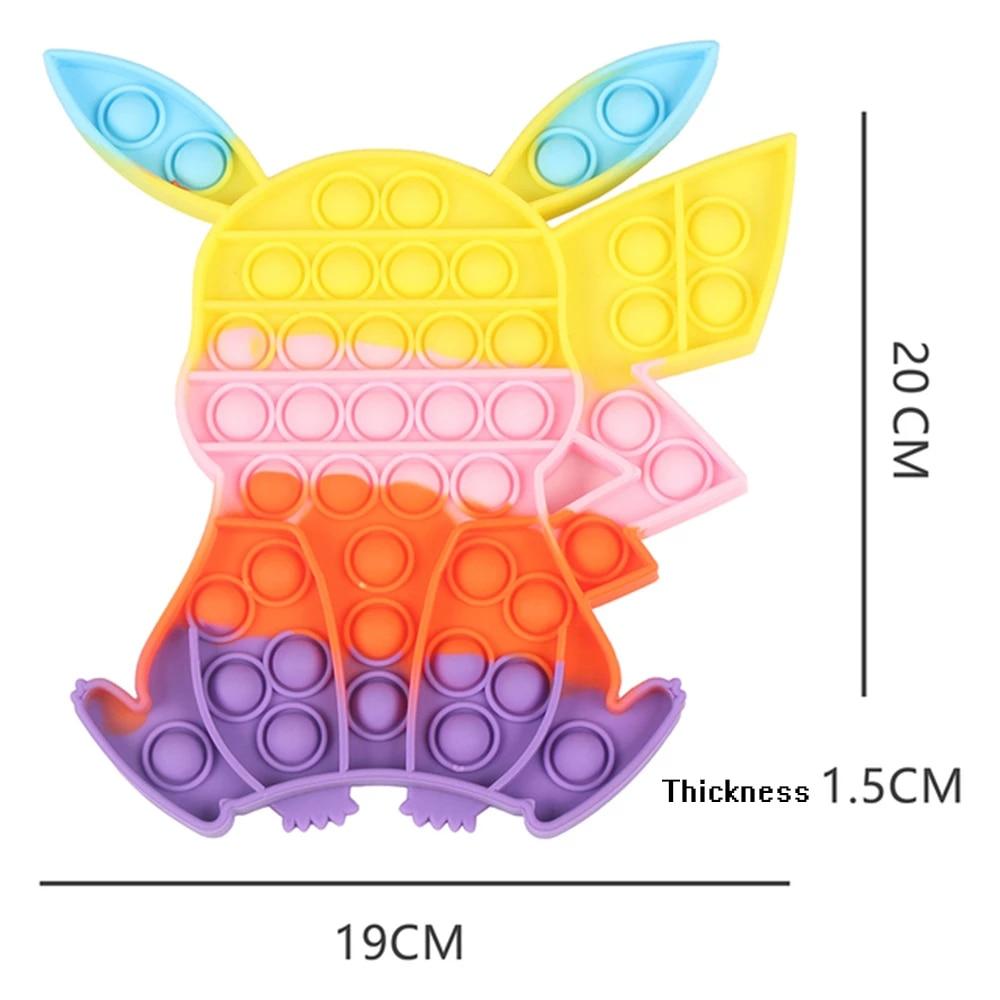 pop it pokemon pikachu fidget toy 4484 - Wacky Track