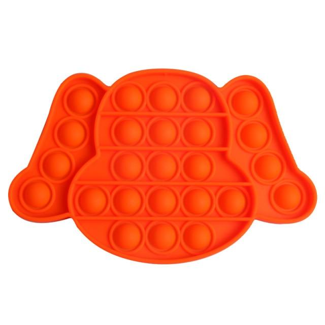 pop it puppy dog shape fidget toy 1437 - Wacky Track