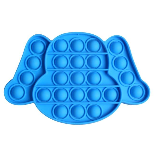 pop it puppy dog shape fidget toy 8757 - Wacky Track