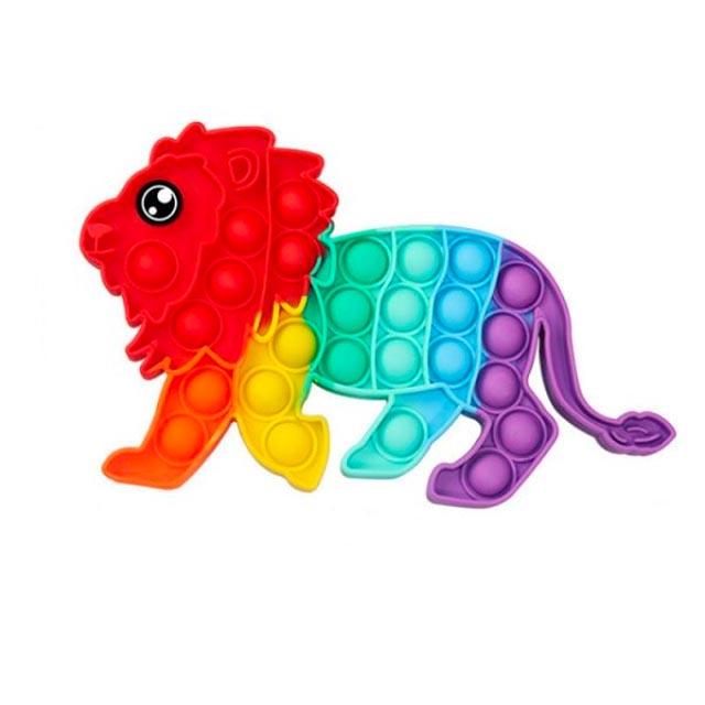 pop it rainbow lion fidget toy 1204 - Wacky Track
