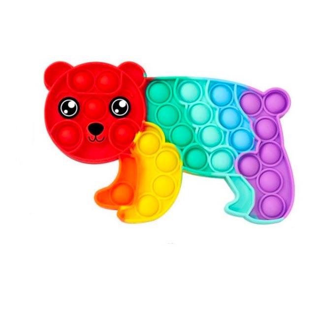 pop it rainbow panda fidget toy 3812 - Wacky Track