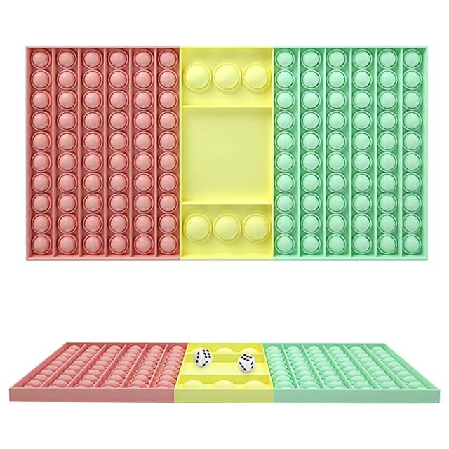 pop it rectangle fidget toy 2210 - Wacky Track