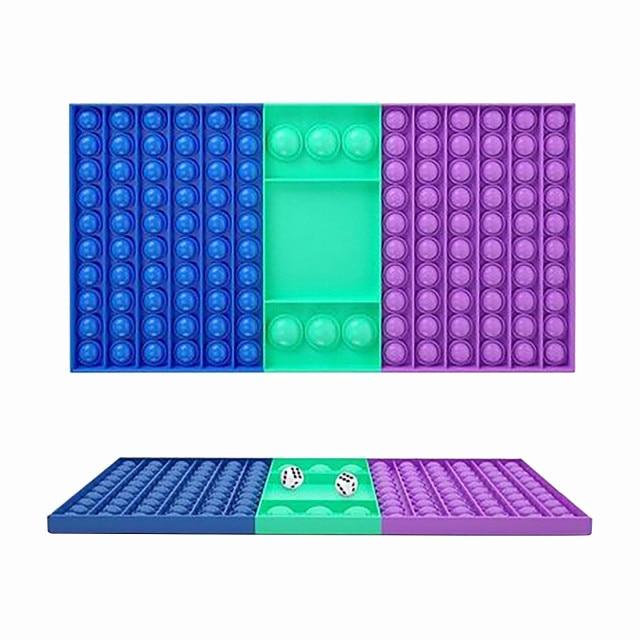 pop it rectangle fidget toy 3768 - Wacky Track