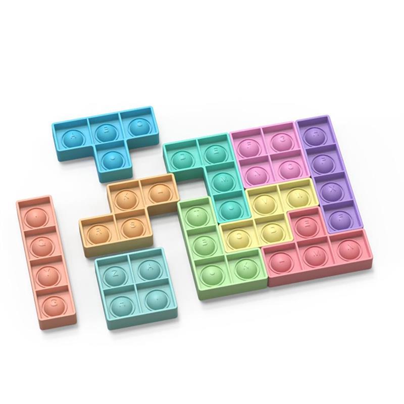 pop it rectangle fidget toy 4350 - Wacky Track