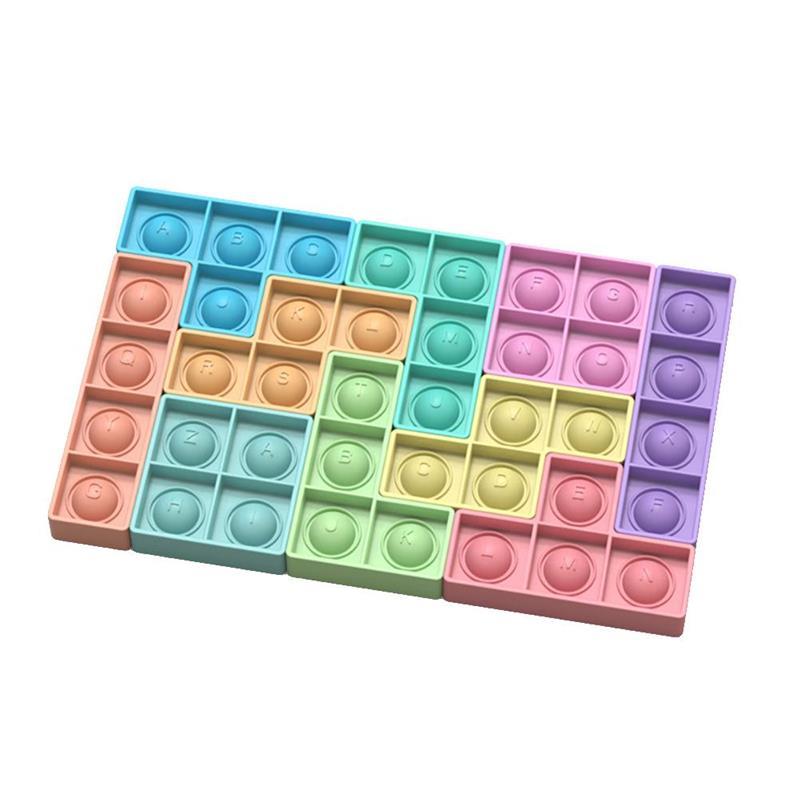 pop it rectangle fidget toy 5490 - Wacky Track