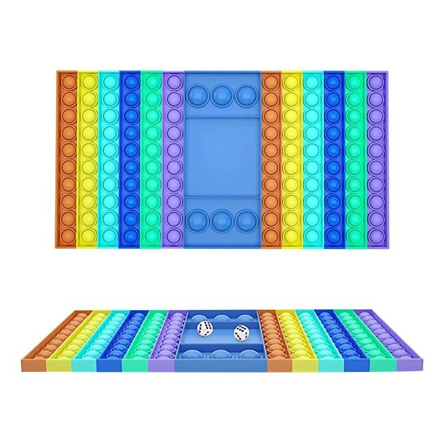 pop it rectangle fidget toy 5662 - Wacky Track