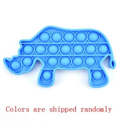 pop it rhino fidget toy 1804 - Wacky Track
