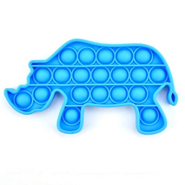 pop it rhino fidget toy 4678 - Wacky Track