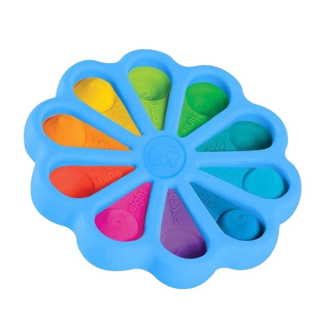 pop it round fidget toy 7538 - Wacky Track