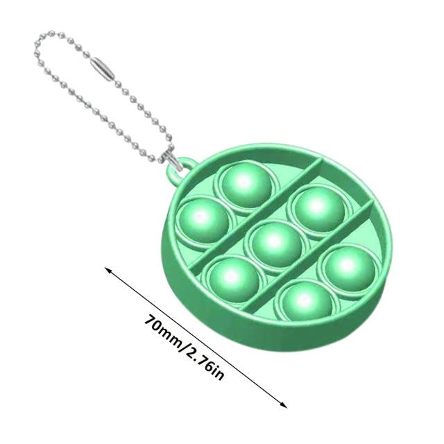 pop it round shapes keychain fidgets toys 3369 - Wacky Track