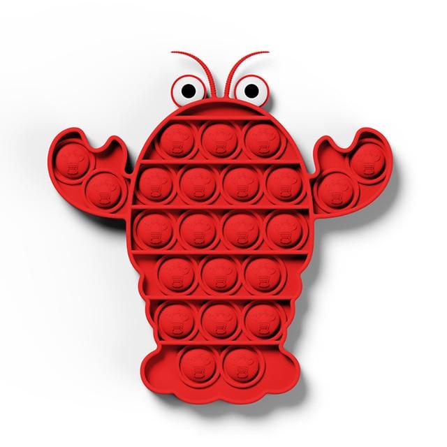 pop it shrimp fidget toys 5679 - Wacky Track